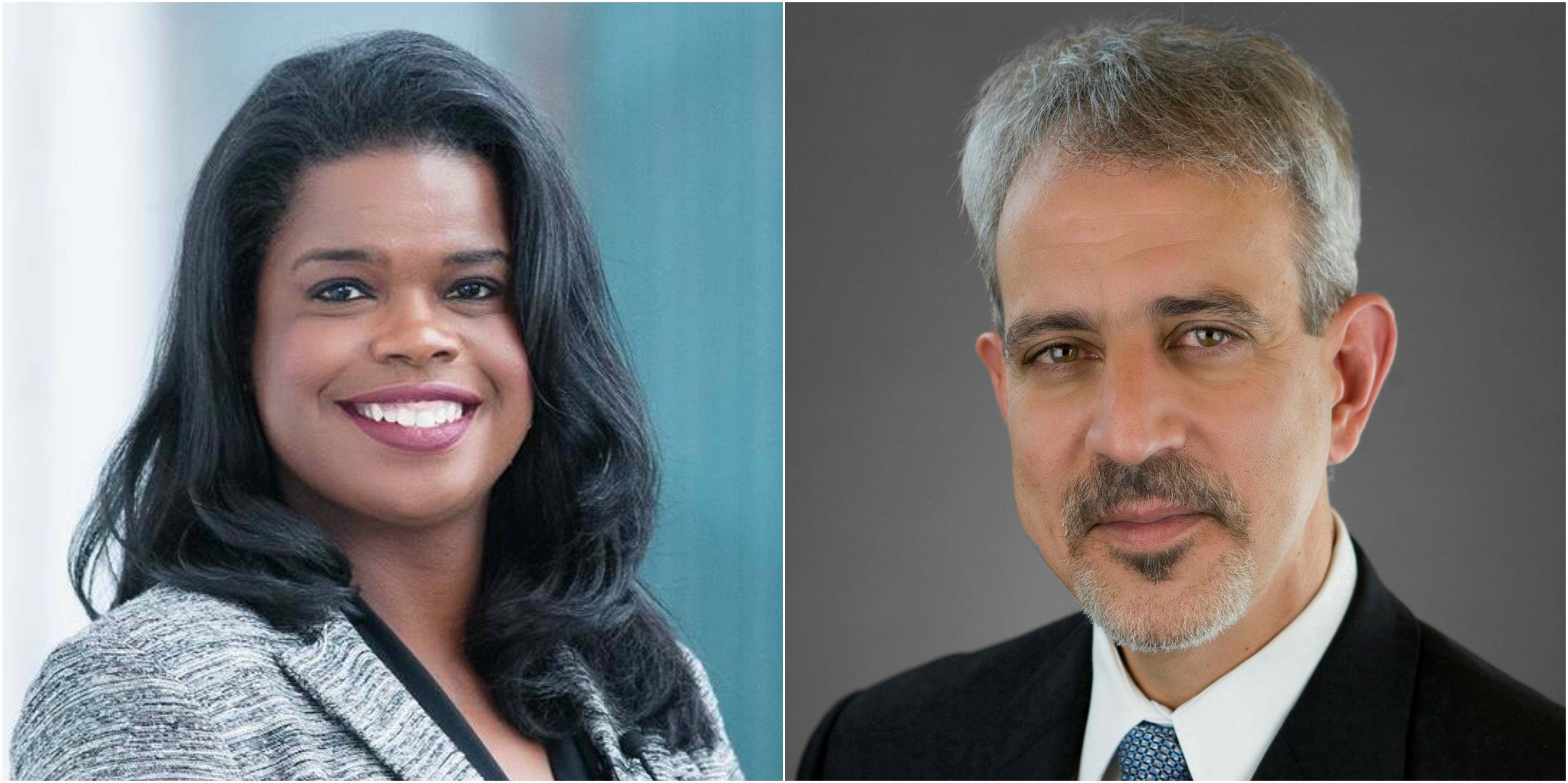 Photo of Kim Foxx and Sergio Acosta
