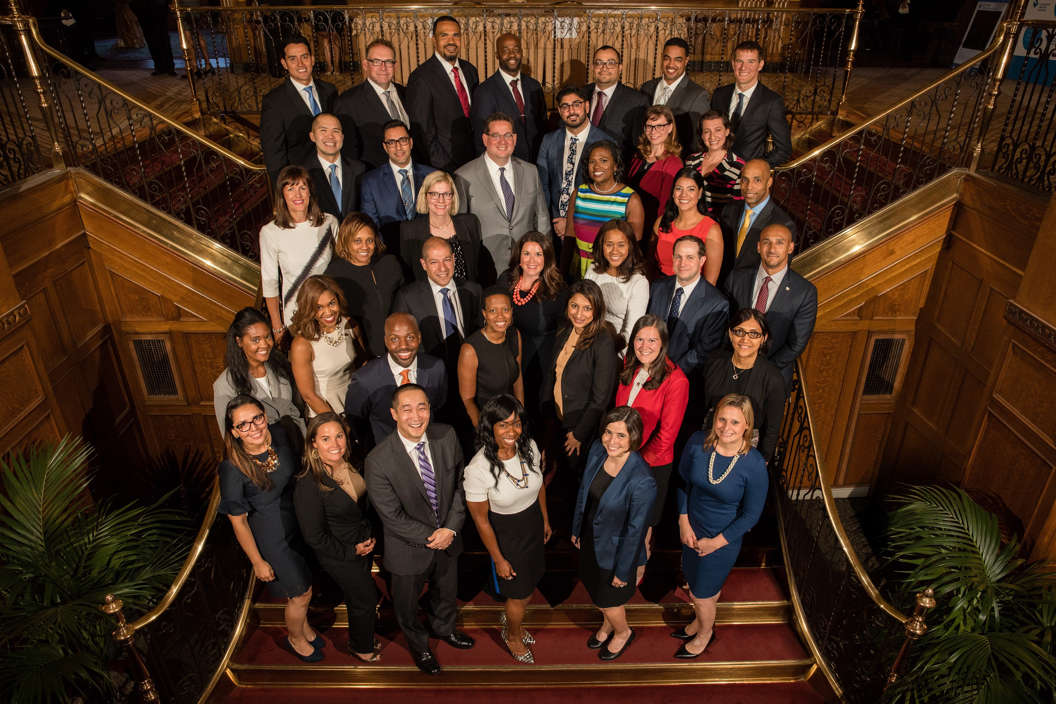 Group photo of the Class of 2018 Fellows